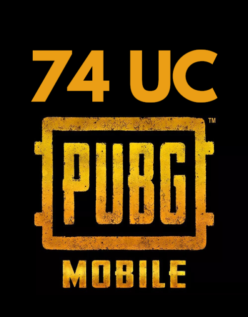 pubg mobile uc 74 top up online in pakistan