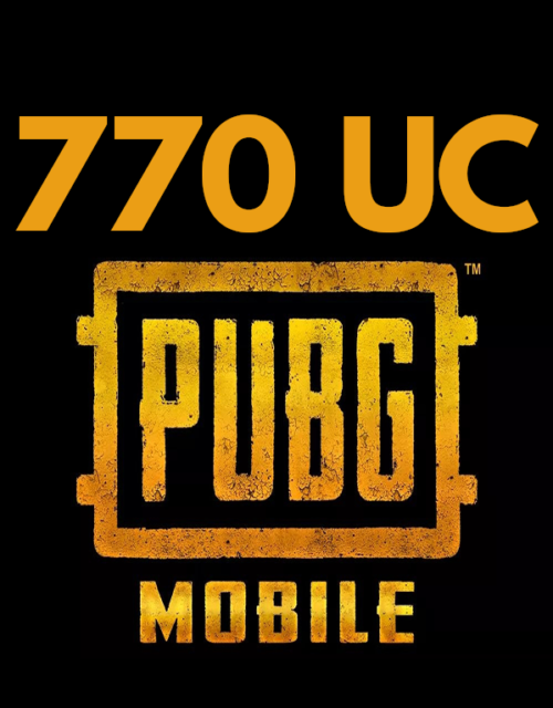 pubg mobile uc 770 top up online in pakistan